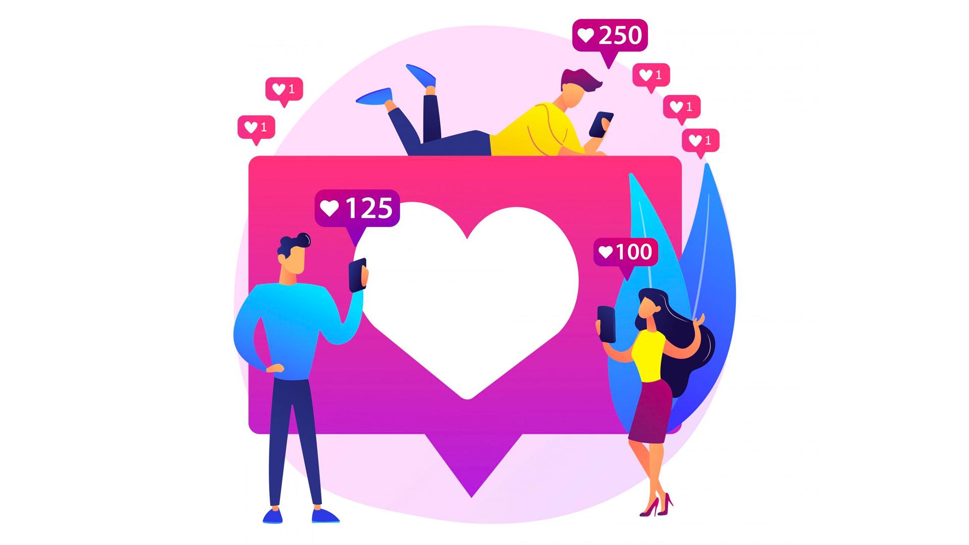 Social media interactie